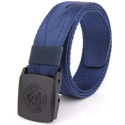 ENNIU Korean Style Adjustable Nylon  Weaving Belt Anti Allergy Stretch Durable Belt