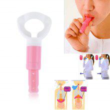 1 Pcs Portable Abdominal Breathing Exerciser Trainer Respiration Device Props Slim Waist Face Lose Weight Increase Lung