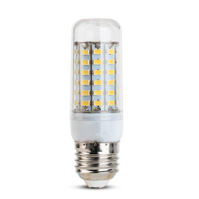 1PCS 5W E27 LED Corn Lights 56 LEDs SMD 5730 450LM Decorative Lamp AC 220-240VCorn Bulbs<br>1PCS 5W E27 LED Corn Lights 56 LEDs SMD 5730 450LM Decorative Lamp AC 220-240V<br><br>Bulb Shape: T<br>Color Temperature or Wavelength: 6000 - 6500K ( white ); 3000 - 3500K ( warm white )<br>Connection: E27<br>Connector Type: E27<br>Dimmable: No<br>Features: Decorative<br>Initial Lumens ( lm ): 450<br>LED Beam Angle: 270 Degree<br>LED Quantity: 56<br>LED Type: SMD 5730<br>Lifetime ( h ): More Than  45000<br>Light Source Color: Cold White,Warm White<br>Material: Plastic, PC<br>Package Contents: 1 x LED Corn Blub<br>Package size (L x W x H): 10.00 x 3.30 x 3.30 cm / 3.94 x 1.3 x 1.3 inches<br>Package weight: 0.0350 kg<br>Power Supply: AC Powered<br>Primary Application: Bathroom,Bedroom,Children Room,Childrens Room,Everyday Use,Garage,Garage or Carport,Hallway or Stairwell,Home,Home or Office,Kitchen,Living Room,Living Room or Dining Room,Storage Room,Storage Room o<br>Product size (L x W x H): 9.50 x 3.10 x 3.10 cm / 3.74 x 1.22 x 1.22 inches<br>Product weight: 0.0290 kg<br>Type: LED Corn Lights<br>Voltage: 220-240V<br>Wattage: 5W