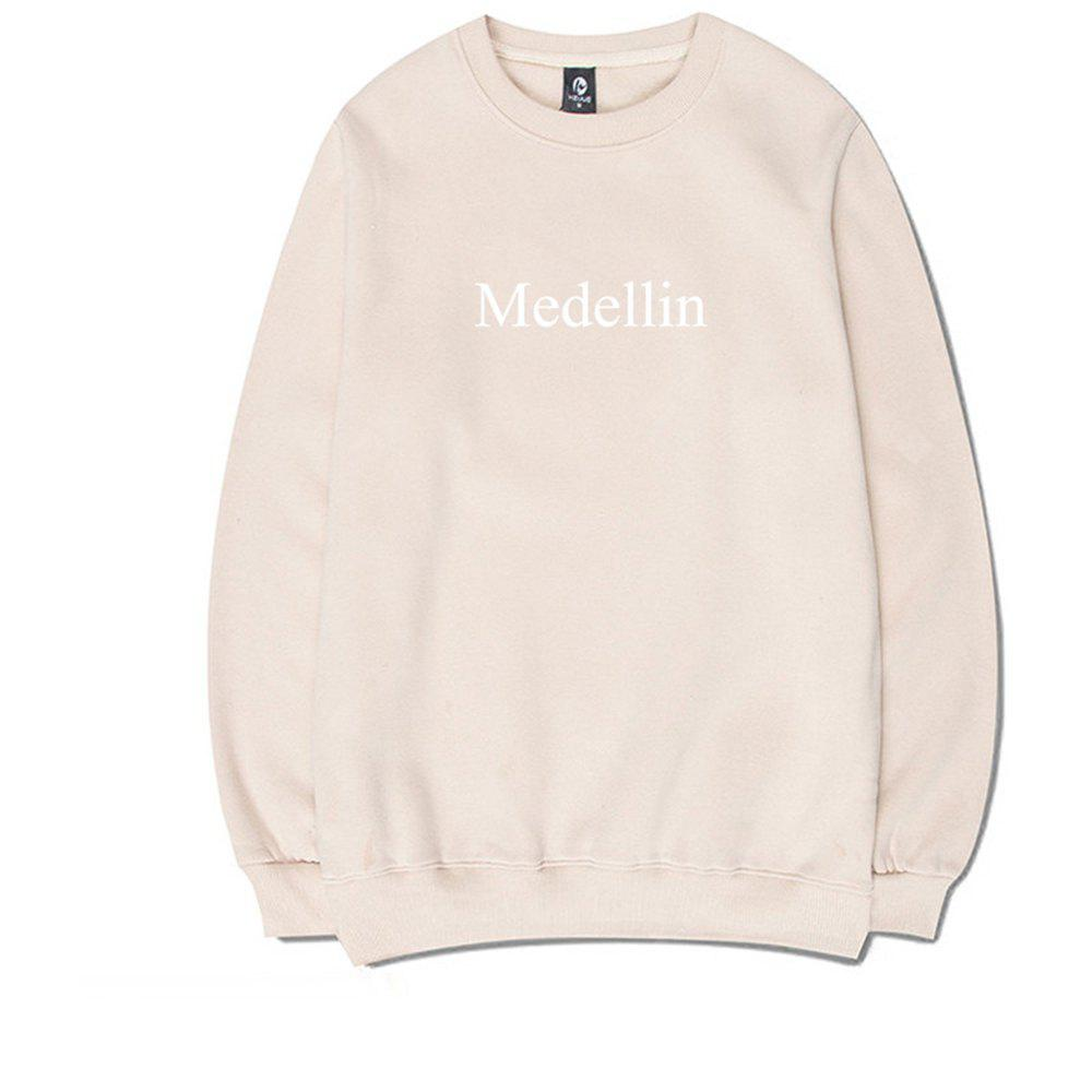 Cover with A Round Collar Sweatshirt