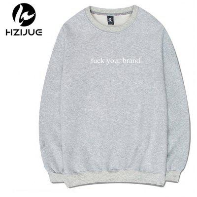Individual Male Style with A Round Collar SweatshirtMens Hoodies &amp; Sweatshirts<br>Individual Male Style with A Round Collar Sweatshirt<br><br>Material: Cotton<br>Package Contents: 1xSweatshirt<br>Shirt Length: Regular<br>Sleeve Length: Full<br>Style: Casual<br>Weight: 0.5000kg