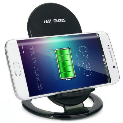 SpedCrd 2-Coils Qi Wireless Charger Pad Fast charge