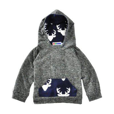 SOSOCOER Baby Boys Clothes SetDeer Head Stamp Hoodie + Pants Two Piece Suitbaby clothing sets<br>SOSOCOER Baby Boys Clothes SetDeer Head Stamp Hoodie + Pants Two Piece Suit<br><br>Brand: SOSOCOER<br>Closure Type: Pullover<br>Collar: Hooded<br>Color: Blue<br>Decoration: Pattern<br>Gender: Boy<br>Material: Cotton<br>Package Contents: 1 x Hooded Tops, 1 x Pair of Pants<br>Pattern Style: Animal<br>Season: Spring<br>Sleeve Length: Full<br>Sleeve Style: Regular<br>Style: British<br>Thickness: General<br>Weight: 0.3000kg