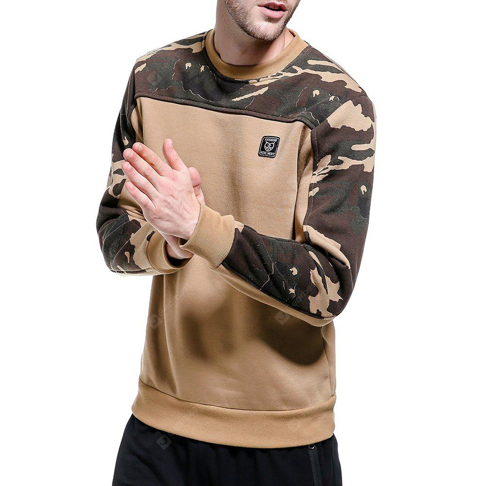 WY09 2017 Autumn and Winter New Men'S Casual Camouflage Sweatshirt 2017