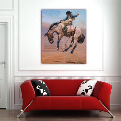 YHHP Print Wall Art Western Cowboy SeriesPrints<br>YHHP Print Wall Art Western Cowboy Series<br><br>Brand: YHHP<br>Craft: Print<br>Form: One Panel<br>Material: Canvas<br>Package Contents: 1 x Panel of Print<br>Package size (L x W x H): 62.00 x 4.00 x 4.00 cm / 24.41 x 1.57 x 1.57 inches<br>Package weight: 0.2500 kg<br>Painting: Without Inner Frame<br>Product size (L x W x H): 50.00 x 60.00 x 1.00 cm / 19.69 x 23.62 x 0.39 inches<br>Product weight: 0.1500 kg<br>Shape: Vertical<br>Style: Art Deco / Retro<br>Subjects: Animal<br>Suitable Space: Living Room,Bedroom,Office