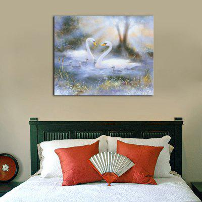 YHHP 1 Panel Hd Print Wall Art Animal Beautiful White SwansPrints<br>YHHP 1 Panel Hd Print Wall Art Animal Beautiful White Swans<br><br>Brand: YHHP<br>Craft: Print<br>Form: One Panel<br>Material: Canvas<br>Package Contents: 1 x Panel of Print<br>Package size (L x W x H): 72.00 x 5.00 x 5.00 cm / 28.35 x 1.97 x 1.97 inches<br>Package weight: 0.3000 kg<br>Painting: Without Inner Frame<br>Product size (L x W x H): 60.00 x 80.00 x 1.00 cm / 23.62 x 31.5 x 0.39 inches<br>Product weight: 0.2000 kg<br>Shape: Horizontal<br>Style: Art Deco / Retro<br>Subjects: Animal<br>Suitable Space: Living Room,Bedroom,Office
