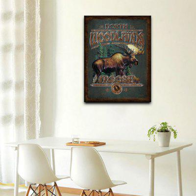 YHHP 1 Panel Hd Print Retro Decoration Wall Art Animal MoosePrints<br>YHHP 1 Panel Hd Print Retro Decoration Wall Art Animal Moose<br><br>Brand: YHHP<br>Craft: Print<br>Form: One Panel<br>Material: Canvas<br>Package Contents: 1 x Panel of Print<br>Package size (L x W x H): 72.00 x 5.00 x 5.00 cm / 28.35 x 1.97 x 1.97 inches<br>Package weight: 0.3000 kg<br>Painting: Without Inner Frame<br>Product size (L x W x H): 60.00 x 90.00 x 1.00 cm / 23.62 x 35.43 x 0.39 inches<br>Product weight: 0.2000 kg<br>Shape: Vertical<br>Style: Art Deco / Retro<br>Subjects: Animal<br>Suitable Space: Living Room,Kids Room,Study Room / Office