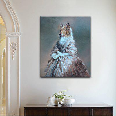 YHHP Print Animal Portrait Noble LadyPrints<br>YHHP Print Animal Portrait Noble Lady<br><br>Brand: YHHP<br>Craft: Print<br>Form: One Panel<br>Material: Canvas<br>Package Contents: 1 x Panel of Print<br>Package size (L x W x H): 62.00 x 4.00 x 4.00 cm / 24.41 x 1.57 x 1.57 inches<br>Package weight: 0.2500 kg<br>Painting: Without Inner Frame<br>Product size (L x W x H): 50.00 x 60.00 x 1.00 cm / 19.69 x 23.62 x 0.39 inches<br>Product weight: 0.1500 kg<br>Shape: Vertical<br>Style: Art Deco / Retro<br>Subjects: Animal<br>Suitable Space: Living Room,Bedroom,Office