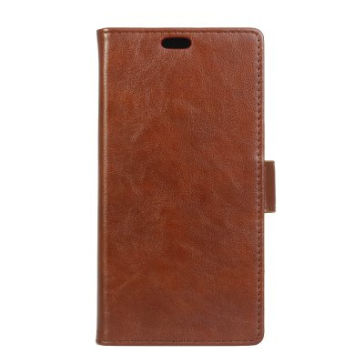 Cover Case for Redmi 5 Plus Vintage Crazy Leather