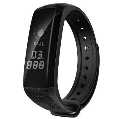 M2Z Smart Band Fitness Tracker Wristband Heart Monitor Intelligent Blood Pressure Wrist BraceletSmart Watches<br>M2Z Smart Band Fitness Tracker Wristband Heart Monitor Intelligent Blood Pressure Wrist Bracelet<br><br>Band material: Silicone<br>Battery Capacity: 90mAh<br>Battery Type: Polymer lithium battery<br>Bluetooth Version: Bluetooth 4.0<br>Case material: PC<br>Compatible OS: IOS, Android<br>Functions: Sleep management, Measurement of heart rate, Avoid phone loss, Camera remote control, Incoming calls show, SMS Reminding, Pedometer, Date, Alarm Clock, Time<br>Language: English,French,Spanish,Portuguese,German,Dutch,Japanese,Korean,Itanlian<br>Package Contents: 1 x Smart Band,1 x Charger,1 x English User Manual<br>Package size (L x W x H): 9.40 x 9.40 x 4.40 cm / 3.7 x 3.7 x 1.73 inches<br>Package weight: 0.1050 kg<br>People: Unisex table<br>Product weight: 0.0280 kg<br>Screen: Yes<br>Screen type: OLED<br>Shape of the dial: Rectangle<br>Standby time: 7 days<br>Voltage: 5V<br>Waterproof: Yes<br>Waterproof Rating: IP68