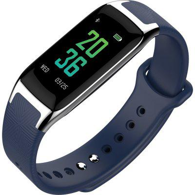 Pedometer Smart Bracelet  Heart Rate Monitor Blood Pressure Fitness 0.96 inch IPS Color Touch ScreenSmart Watches<br>Pedometer Smart Bracelet  Heart Rate Monitor Blood Pressure Fitness 0.96 inch IPS Color Touch Screen<br><br>Band material: Silicone<br>Battery  Capacity: 90 mAh<br>Bluetooth Version: Bluetooth 4.0<br>Case material: Plastic<br>Compatability: iOS 8.0 or above, Android4.4 and above<br>Compatible OS: IOS, Android<br>Functions: Measurement of heart rate, Notification of app, Sleep management, Pedometer, Date, Alarm Clock, Time<br>Language: English,Spanish,Russian,German,Italian,Japanese<br>Operating mode: Touch Screen<br>Package Contents: 1 x B20 Smart Band,1 x Chinese and English Manual,1 x USB Charging Cable<br>Package size (L x W x H): 10.50 x 8.50 x 3.50 cm / 4.13 x 3.35 x 1.38 inches<br>Package weight: 0.1050 kg<br>People: Male table<br>Screen type: OLED<br>Shape of the dial: Rectangle<br>Waterproof: Yes