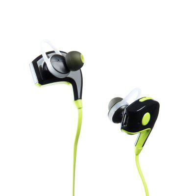 In-Ear Wireless Bluetooth Earphone Stereo Earbuds Bass Headset  with Mic for iPhone 6 Samsung Phone hbq i7 tws wireless earphone bluetooth headset in ear invisible earbud with mic for iphone 7 plus 8 6 6s 5 s 5s samsung s8 note8