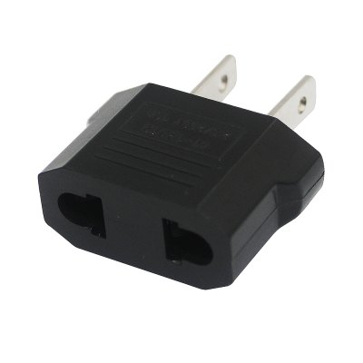 цена на Minismile 25V-250V 10A Universal EU / US Socket to US Plug AC Power Adapter / Charger