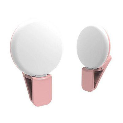 LED External Fill Light Appearance Beautification Selfie Lights Flashes and Accessories PhotographicPhone Lenses<br>LED External Fill Light Appearance Beautification Selfie Lights Flashes and Accessories Photographic<br><br>Accessories type: Fill-in Light<br>Battery Capacity (mAh): 100<br>Colors: Pink,Black,White<br>Material: ABS<br>Package Contents: 1 x Fill light, 1 x Cable<br>Package size (L x W x H): 15.00 x 6.00 x 3.00 cm / 5.91 x 2.36 x 1.18 inches<br>Package weight: 0.0360 kg