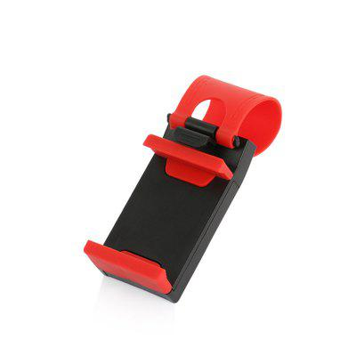 Universal Car Steering Wheel Clip Mount Holder for iPhone 8 7 7Plus 6 6s Samsung Xiaomi Huawei Mobile Phone GPS