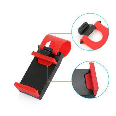 Universal Car Steering Wheel Clip Mount Holder for iPhone 8 7 7Plus 6 6s Samsung Xiaomi Huawei Mobile Phone GPSOther Car Gadgets<br>Universal Car Steering Wheel Clip Mount Holder for iPhone 8 7 7Plus 6 6s Samsung Xiaomi Huawei Mobile Phone GPS<br><br>Package Contents: 1 x Bracket<br>Package size (L x W x H): 20.00 x 15.00 x 10.00 cm / 7.87 x 5.91 x 3.94 inches<br>Package weight: 0.0600 kg