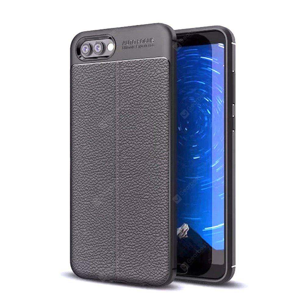 Cover Case for Huawei Honor V10 Litchi Grain To Drop