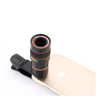 General 8 Times Mobile Zoom LensPhone Lenses<br>General 8 Times Mobile Zoom Lens<br><br>Material: Plastic<br>Package Contents: 1 x Lens , 1 x  Phone Lens Holder<br>Package size (L x W x H): 10.00 x 5.00 x 5.00 cm / 3.94 x 1.97 x 1.97 inches<br>Package weight: 0.0800 kg<br>Product weight: 0.0600 kg