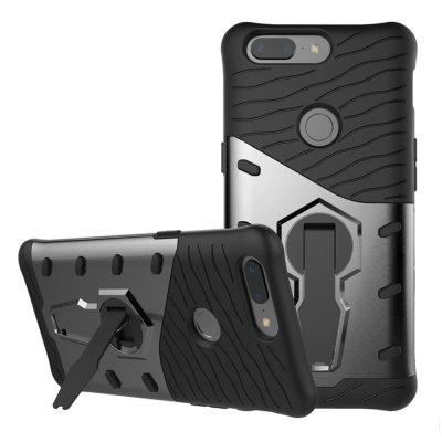 Cover Case for OnePlus 5T  Dual Layer Heavy Duty Hybrid Combo Shock-Resistant  Full Body Protective with 360 Degree Rota
