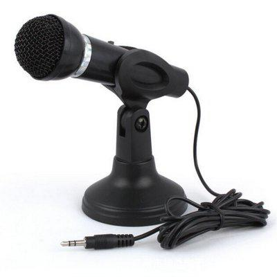 3.5MM Plug in Microphone For Computer Recording Omnidirectional