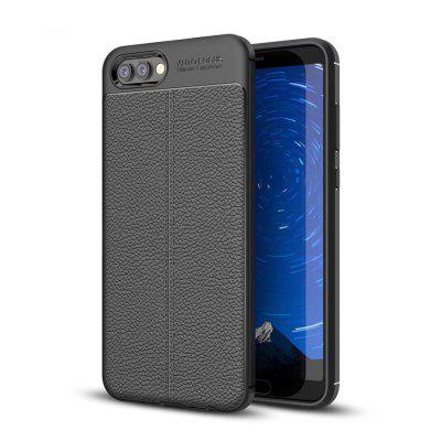 Lichee Pattern Soft TPU Flexible and Comfortable Touch Feeling Cell Phone Case for Hawei Honor V10
