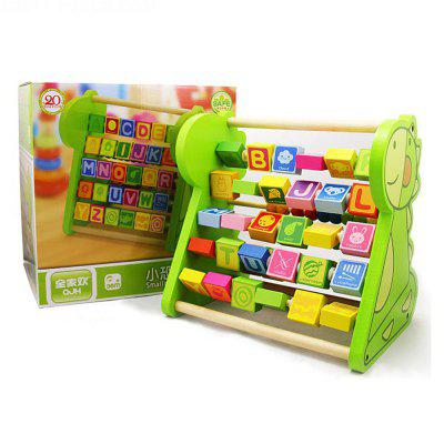 Dinosaur Count Alphabet Frame Early Teaching of Puzzle ToyOther Educational Toys<br>Dinosaur Count Alphabet Frame Early Teaching of Puzzle Toy<br><br>Age: 3 Years+<br>Applicable gender: Unisex<br>Design Style: Digital, Cartoon<br>Features: Educational<br>Gender: Unisex<br>Material: Wood<br>Package Contents: 1 x Bead Frame<br>Package size (L x W x H): 25.00 x 19.00 x 26.00 cm / 9.84 x 7.48 x 10.24 inches<br>Package weight: 1.2000 kg<br>Product weight: 1.0000 kg<br>Puzzle Style: Jigsaw Puzzle<br>Small Parts: No<br>Type: Puzzle Jigsaw<br>Washing: Yes