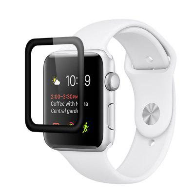 Full Coverage 3D Curved Surface Anti-Shock Screen Protective Film for iWatch Serise 1/2/3