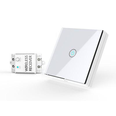 Movable Wireless Switch No Installation Free Stickers