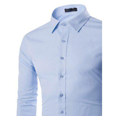 New Fashion Color All-Match Business Mens Long Sleeve ShirtMens Shirts<br>New Fashion Color All-Match Business Mens Long Sleeve Shirt<br><br>Collar: Turn-down Collar<br>Fabric Type: Broadcloth<br>Material: Cotton, Polyester<br>Package Contents: 1 X Shirt<br>Shirts Type: Formal Shirts<br>Sleeve Length: Full<br>Weight: 0.3000kg