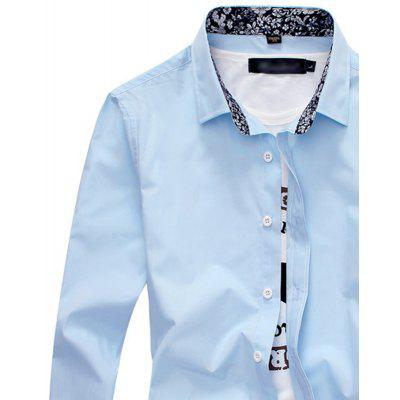 Fashion Pattern All-Match Mens Long Sleeve  Collar ShirtMens Shirts<br>Fashion Pattern All-Match Mens Long Sleeve  Collar Shirt<br><br>Collar: Turn-down Collar<br>Fabric Type: Broadcloth<br>Material: Cotton, Polyester<br>Package Contents: 1 X shirt<br>Shirts Type: Casual Shirts<br>Sleeve Length: Full<br>Weight: 0.3000kg