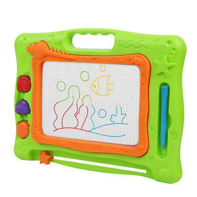 Kid Drawing Board Sea Colored Magnetic Writing BoardOther Educational Toys<br>Kid Drawing Board Sea Colored Magnetic Writing Board<br><br>Completeness: Finished Goods<br>Gender: Boys,Girls<br>Materials: ABS, Plastic, Magnet<br>Package Contents: 1 x Drawing Board<br>Package size: 35.50 x 3.50 x 22.80 cm / 13.98 x 1.38 x 8.98 inches<br>Package weight: 0.6500 kg<br>Product weight: 0.5500 kg<br>Suitable Age: 3 years old up<br>Theme: Other