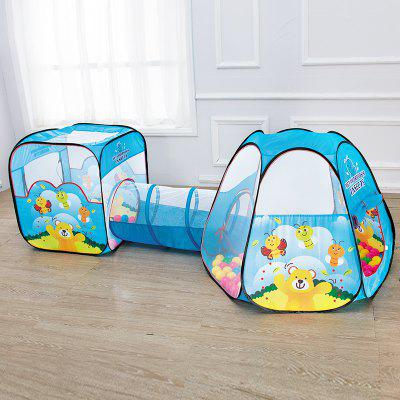 NuKied Children Cartoon Honeybee Pattern Tents 3PCSOutdoor Fun &amp; Sports<br>NuKied Children Cartoon Honeybee Pattern Tents 3PCS<br><br>Age: 3 Years+<br>Applicable gender: Boys,Girls<br>Design Style: Cartoon<br>Features: Others<br>Gender: Boys<br>Material: Polyester<br>Package Contents: 2 x Tent, 1 x Passageway<br>Package size (L x W x H): 46.50 x 9.50 x 46.50 cm / 18.31 x 3.74 x 18.31 inches<br>Package weight: 2.6000 kg<br>Product weight: 2.5000 kg<br>Puzzle Style: Other<br>Small Parts: No<br>Type: Outdoor Toys<br>Washing: No