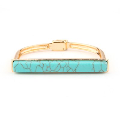Europe and The United States New Turquoise Bracelet Bracelet High Grade Magnet Openings Hand Ornaments