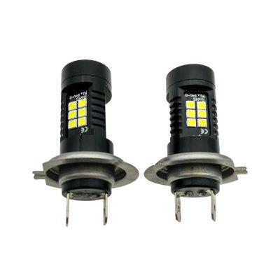 2PCS Fitted For Camry Headlamp Bulb 21W H7 LED Bulb Ultra Brightness Headlight BulbCar Headlights<br>2PCS Fitted For Camry Headlamp Bulb 21W H7 LED Bulb Ultra Brightness Headlight Bulb<br><br>Adaptable automobile mode: Toyota<br>Apply lamp position: External Lights<br>Chip type: SMD 3020<br>Color temperatures: 6000K<br>Connector: H7<br>Emitting color: White<br>LED Quantity: 21<br>Lumens: 2100<br>Package Contents: 2 x H7 Bulbs<br>Package size (L x W x H): 6.00 x 4.00 x 6.00 cm / 2.36 x 1.57 x 2.36 inches<br>Package weight: 0.0450 kg<br>Power: 21W<br>Product size (L x W x H): 5.50 x 1.80 x 1.80 cm / 2.17 x 0.71 x 0.71 inches<br>Product weight: 0.0350 kg<br>Type: Head Lamp<br>Type of lamp-house: LED<br>Voltage: 12V/DC