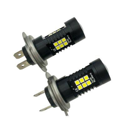 2PCS Fitted For Camry Headlamp Bulb 21W H7 LED Bulb Ultra Brightness Headlight Bulb