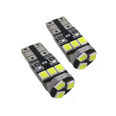 2PCS 4.5W LED 2835 9SMD CAN-bus LED T10 W5W 158 194 LED Ultra Bright Lightness White