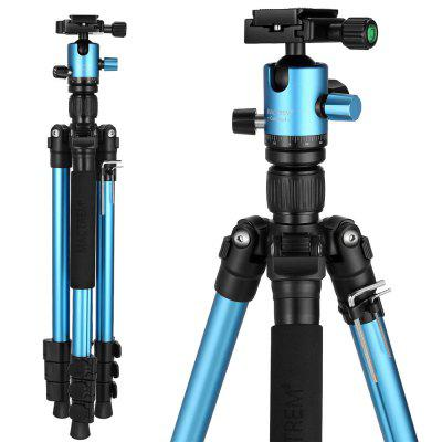 Mactrem Camera Tripod 62.5  Lightweight Alluminum Alloy DSLR Tripod Ball Head Travel Tripod Detachable Monopod