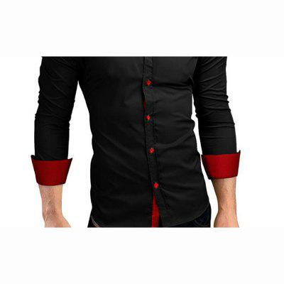 Mens Daily Work Plus Size Casual Spring Fall Solid Classic Collar Long Sleeves Cotton Others ShirtMens Shirts<br>Mens Daily Work Plus Size Casual Spring Fall Solid Classic Collar Long Sleeves Cotton Others Shirt<br><br>Collar: Turn-down Collar<br>Material: Cotton<br>Package Contents: 1 X Shirt<br>Shirts Type: Casual Shirts<br>Sleeve Length: Full<br>Weight: 0.2800kg