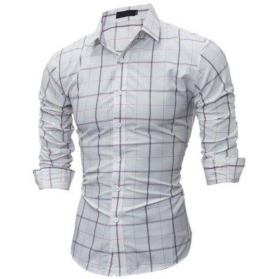 Mens Daily Going out Casual Spring Fall Solid Shirt Collar Long Sleeves Polyester ShirtMens Shirts<br>Mens Daily Going out Casual Spring Fall Solid Shirt Collar Long Sleeves Polyester Shirt<br><br>Collar: Turn-down Collar<br>Material: Cotton<br>Package Contents: 1  X Shirt<br>Shirts Type: Casual Shirts<br>Sleeve Length: Full<br>Weight: 0.2800kg