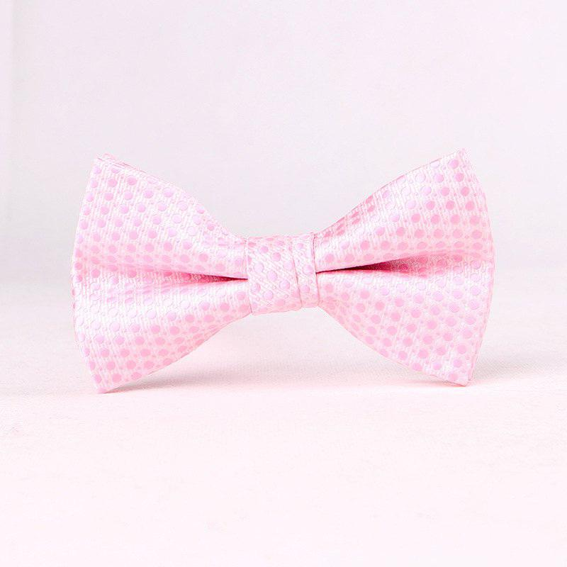 Men'S Lounge Jacquard Tie PINK
