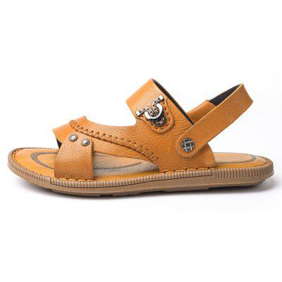 Latest Design Mens Sandal for Summer Season Leather SandalMens Sandals<br>Latest Design Mens Sandal for Summer Season Leather Sandal<br><br>Available Size: 38 39 40 41 42 43<br>Embellishment: Sequined<br>Gender: For Men<br>Outsole Material: Rubber<br>Package Contents: 1xShoes(pair)<br>Pattern Type: Solid<br>Season: Summer<br>Slipper Type: Outdoor<br>Style: Leisure<br>Upper Material: Genuine Leather<br>Weight: 1.9448kg