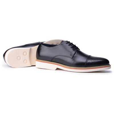 Men Derby Shoes classic Business Pointed Toe Gentleman Men Leather ShoesFormal Shoes<br>Men Derby Shoes classic Business Pointed Toe Gentleman Men Leather Shoes<br><br>Available Size: 38 39 40 41 42 43 44<br>Closure Type: Lace-Up<br>Embellishment: None<br>Gender: For Men<br>Occasion: Dress<br>Outsole Material: Rubber<br>Package Contents: 1xShoes(pair)<br>Pattern Type: Solid<br>Season: Spring/Fall<br>Toe Shape: Round Toe<br>Toe Style: Closed Toe<br>Upper Material: Genuine Leather<br>Weight: 1.9448kg