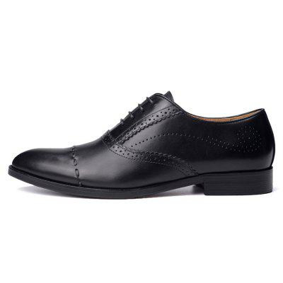 Dress Shoes Tide Pointed England Style Business Wedding Formal Flats Black Shoes For MenFormal Shoes<br>Dress Shoes Tide Pointed England Style Business Wedding Formal Flats Black Shoes For Men<br><br>Available Size: 38 39 40 41 42 43 44<br>Closure Type: Lace-Up<br>Embellishment: None<br>Gender: For Men<br>Occasion: Dress<br>Outsole Material: Rubber<br>Package Contents: 1xShoes(pair)<br>Pattern Type: Solid<br>Season: Spring/Fall<br>Toe Shape: Round Toe<br>Toe Style: Closed Toe<br>Upper Material: Genuine Leather<br>Weight: 1.9448kg