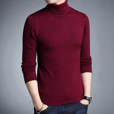 Brand Casual Turtleneck Sweater Men Pullovers Autumn KnitwearMens Sweaters &amp; Cardigans<br>Brand Casual Turtleneck Sweater Men Pullovers Autumn Knitwear<br><br>Closure Type: None<br>Collar: Turtleneck<br>Hooded: No<br>Material: Cotton<br>Package Contents: 1XPullover<br>Package size (L x W x H): 1.00 x 1.00 x 1.00 cm / 0.39 x 0.39 x 0.39 inches<br>Package weight: 0.4300 kg<br>Pattern Type: Solid<br>Product weight: 0.4200 kg<br>Size1: M,L,4XL,2XL,3XL<br>Sleeve Length: Full<br>Sleeve Style: Regular<br>Style: Casual<br>Technics: Flat Knitted<br>Thickness: Standard<br>Type: Pullovers<br>Wool: Standard Wool