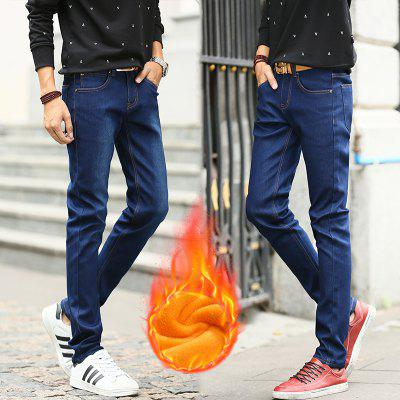 Daifansen Winter Mens Style and Velvet JeansMens Pants<br>Daifansen Winter Mens Style and Velvet Jeans<br><br>Closure Type: Zipper Fly<br>Fit Type: Regular<br>Material: Cotton, Spandex<br>Package Contents: 1 x pants<br>Pant Length: Long Pants<br>Pant Style: Straight<br>Waist Type: Mid<br>Wash: Light<br>Weight: 0.4000kg