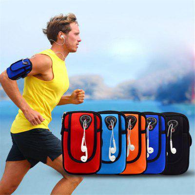Outdoor Exercising Running Sporting Waterproof Shock-Proof Arm Bag Cellphone Arm Band BagCases &amp; Leather<br>Outdoor Exercising Running Sporting Waterproof Shock-Proof Arm Bag Cellphone Arm Band Bag<br><br>Color: Black,Red,Orange,Light blue,Dark blue<br>Package Contents: 1 x arm bag<br>Package size (L x W x H): 18.00 x 11.00 x 4.00 cm / 7.09 x 4.33 x 1.57 inches<br>Package weight: 0.1000 kg<br>Style: Outdoor Sports