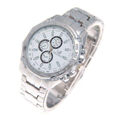 Factory Outlet Large Watch MenS Watch Low-Cost Quartz Boy Pointer Watch Promotional Gifts WatchesMens Watches<br>Factory Outlet Large Watch MenS Watch Low-Cost Quartz Boy Pointer Watch Promotional Gifts Watches<br><br>Band material: Zinc Alloy<br>Case material: Zinc Alloy<br>Clasp type: Double buckle<br>Display type: Analog<br>Movement type: Quartz watch<br>Package Contents: 1 x Watch<br>Package size (L x W x H): 25.00 x 6.00 x 3.00 cm / 9.84 x 2.36 x 1.18 inches<br>Package weight: 0.2000 kg<br>Product size (L x W x H): 23.00 x 4.50 x 1.10 cm / 9.06 x 1.77 x 0.43 inches<br>Product weight: 0.0920 kg<br>Shape of the dial: Round<br>Watch style: Business<br>Watches categories: Men