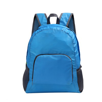 Outdoor Folding Storage Travel Shoulder Bag Light Nylon Outdoor Package Mountaineering