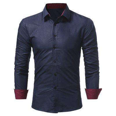 New Classic Dark Stripes Casual Slim Long-Sleeved ShirtMens Shirts<br>New Classic Dark Stripes Casual Slim Long-Sleeved Shirt<br><br>Collar: Turn-down Collar<br>Material: Polyester<br>Package Contents: 1x Shirt<br>Shirts Type: Casual Shirts<br>Sleeve Length: Full<br>Weight: 0.2300kg