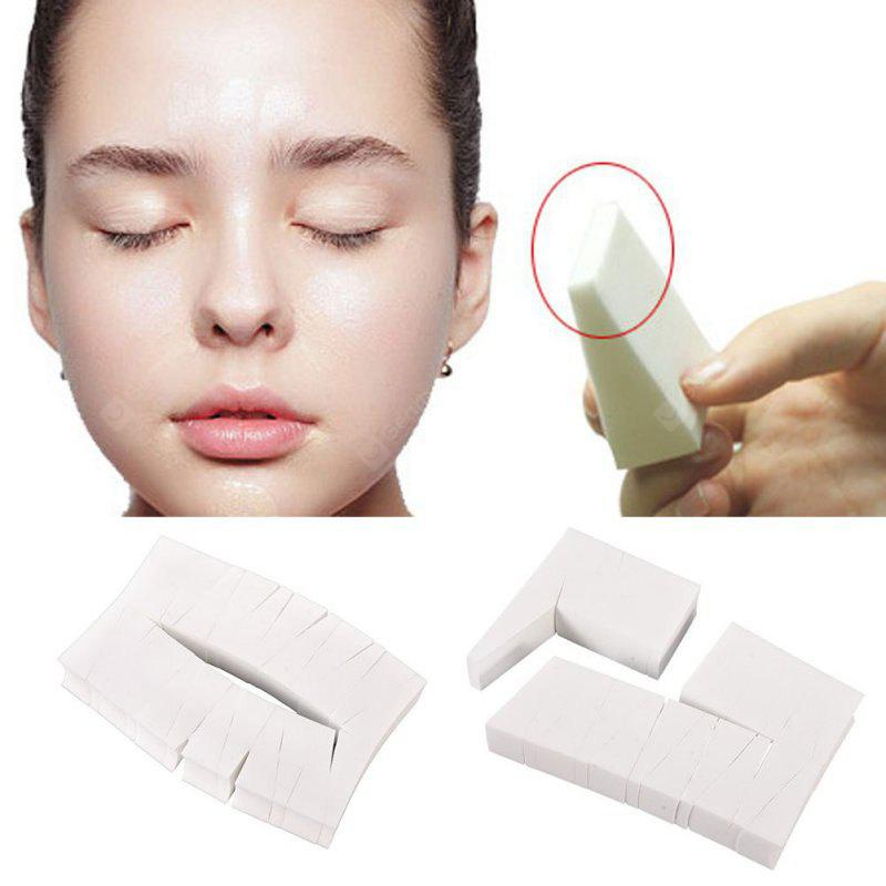 24PCS Beauty Makeup Toolss Triangle Cotton Powder Puff Functionality Makeup Sponge Wedges Facial Foundation Cosmetic Cot